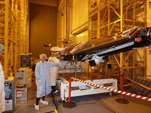 FM3 satellite during the fuelling.